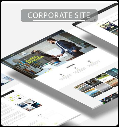 Corporate/News Portal Website